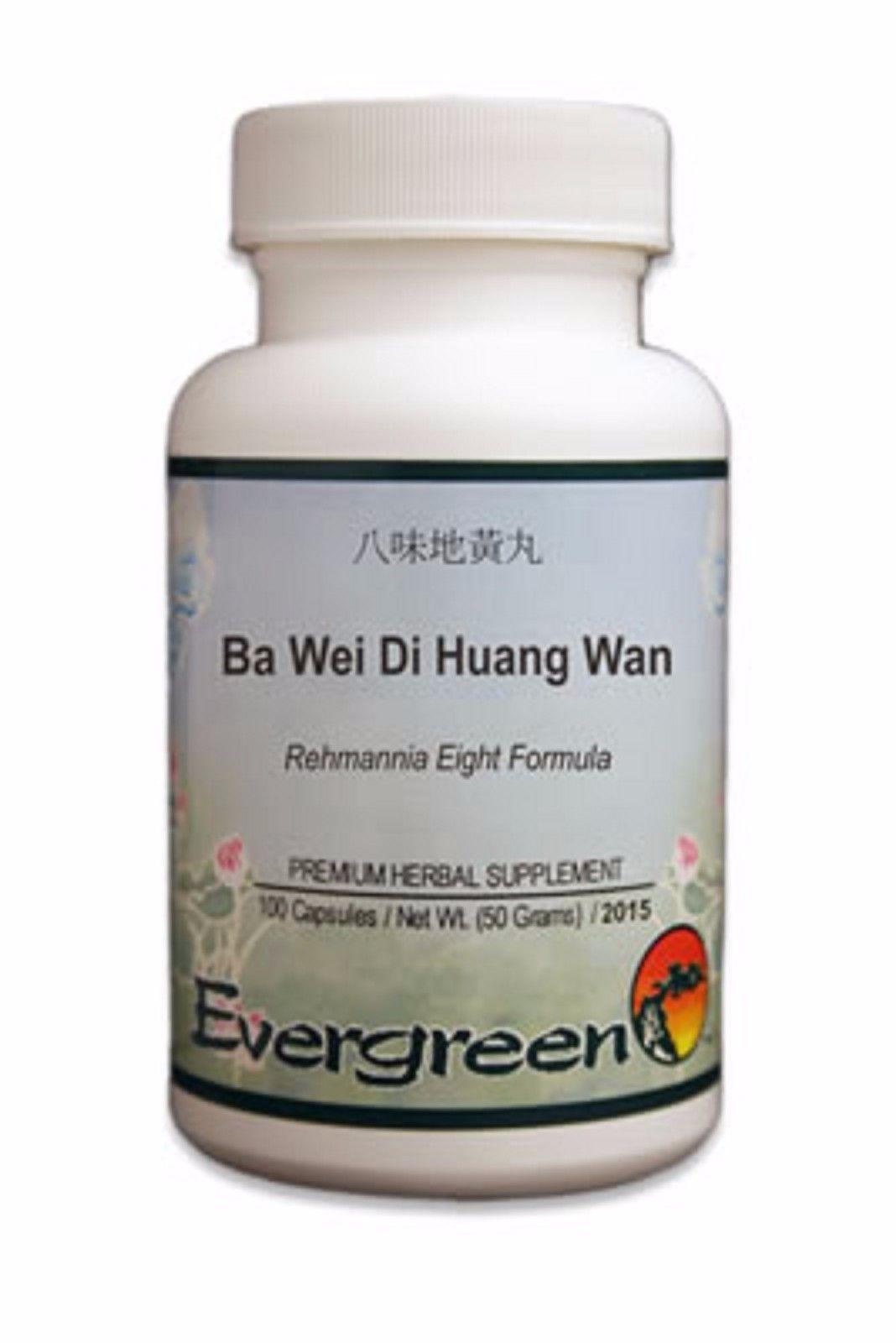 BAI WEI DI HUANG WAN 100caps   Alternative Medicine and ...